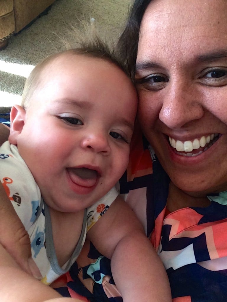 Mom and Henry