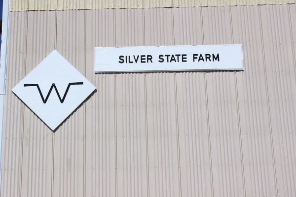 Silver State Farm sign