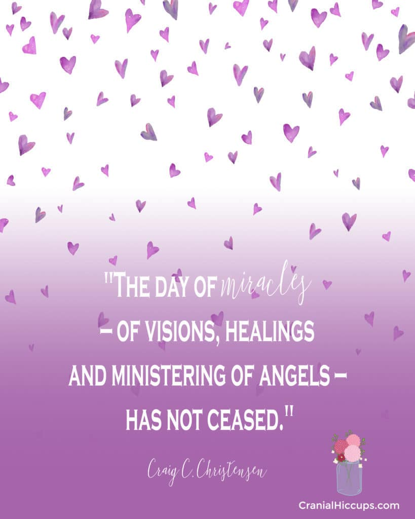 day of miracles not ceased