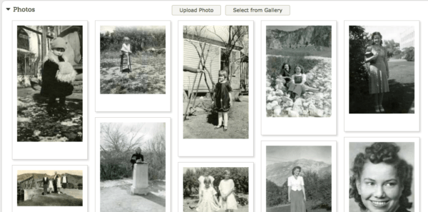 Photos in Family Search