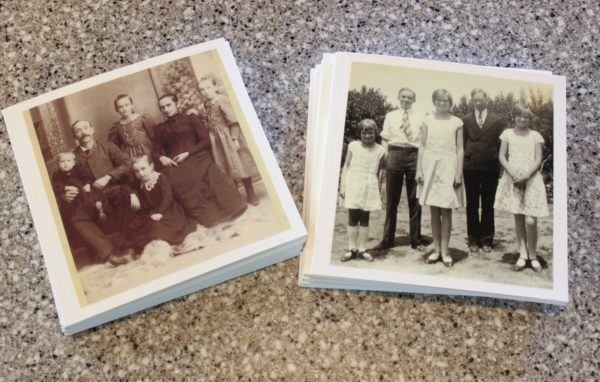 chatbooks with ancestor photos