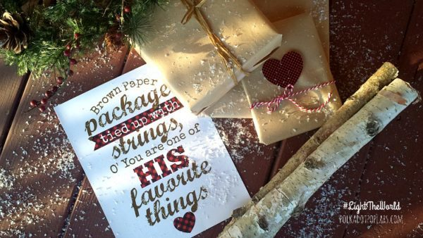 Brown Paper Packages Tied up With String Printables