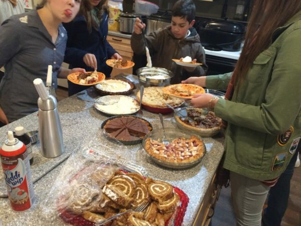 Just some of the delicious pies and desserts!