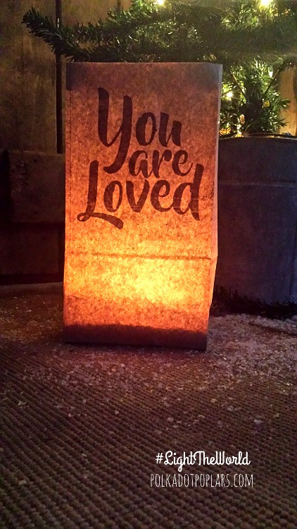 You are loved luminary