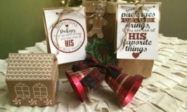 Brown Paper Packages Christmas Service Kits