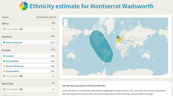 Ancestry.com DNA results overview