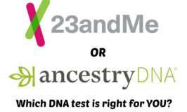 23andMe or AncestryDNA – Which Should You Use for a DNA Test?