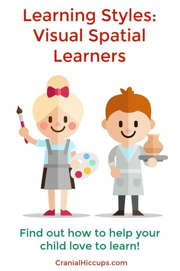 Learning Styles: Visual Spatial Learners - they are the artists, the ones who like color, pictures, graphs, etc. Find out how to help your child love to learn!