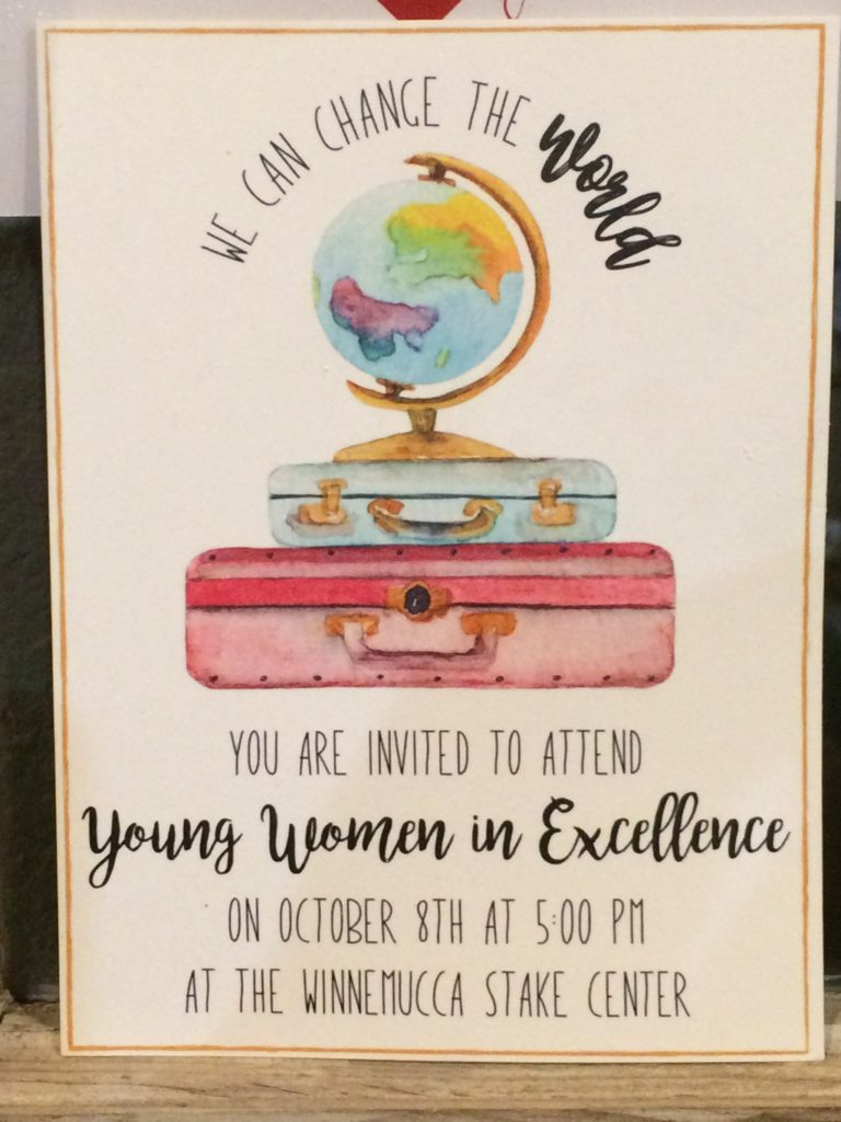 Young Women in Excellence - We Can Change the World